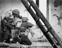 Gurkhas in action